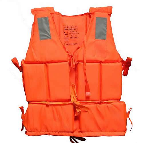 New Orange Adult Foam Flotation Swimming Life Jacket Vest With Whistle(China (Mainland))