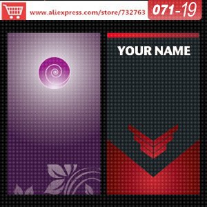 0071-19 business card template for print on papervisit card design name card online free(China (Mainland))