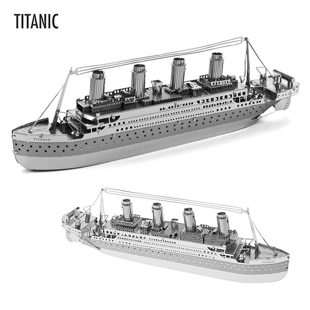 ZOYO DIY 3D Laser Cut Models Puzzle Toys New Educational Toy for Children Gift - Titanic(China (Mainland))