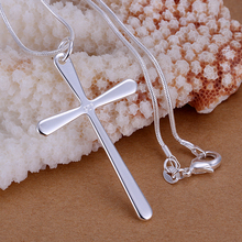 Wholesale New Arrival Sterling Silver Cross Necklace Pendant Fashion 925 Sterling Silver 925 Jewelry crucifixo