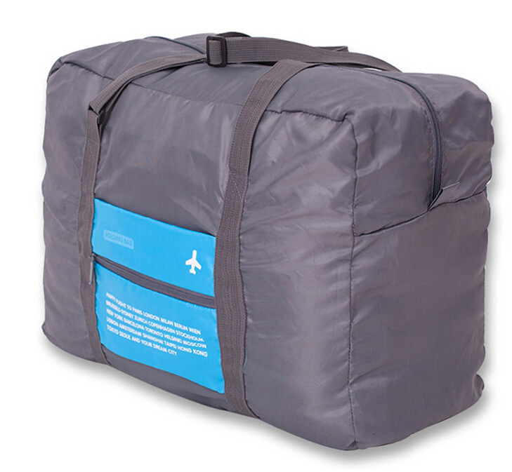2015 New Style Fashion Sports Travel Bag Large Capacity Bag Women Canvas Folding Bag Women Luggage Travel Handbags Free Shipping(China (Mainland))