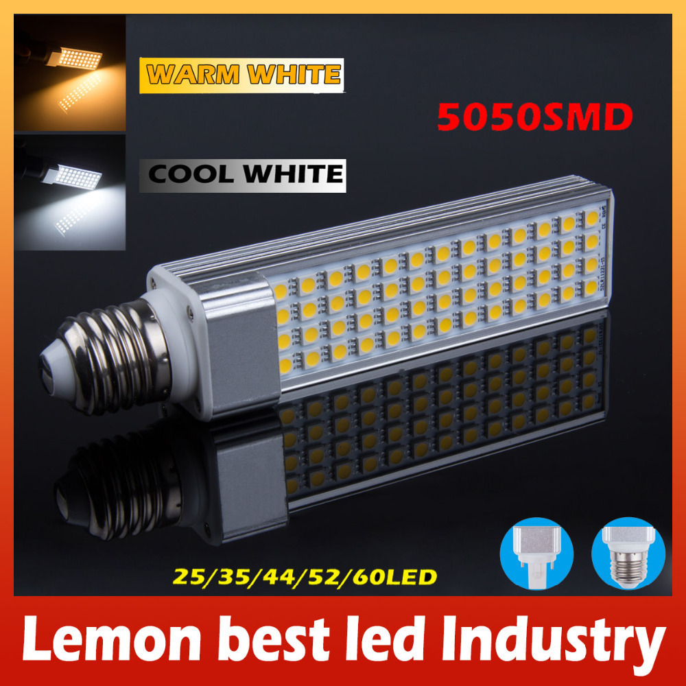 Brand New 5W 7W 9W 11W 13W E27 and G24 socket select LED Corn Bulb Lamp Bombillas Light SMD 5050 Spotlight 180 Degree AC85-265V(China (Mainland))