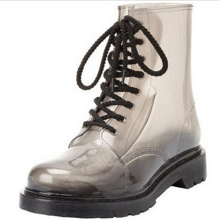 Plus Size Men Amp Women S Gumboots Gumshoes Clear Jelly Rain