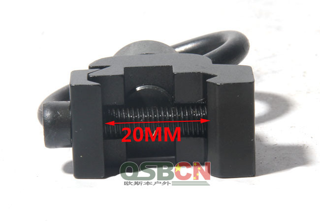 20MM Rail Mount Qd Sling Swivel Attachment Point Hunting Shooting Tactical Free Shipping