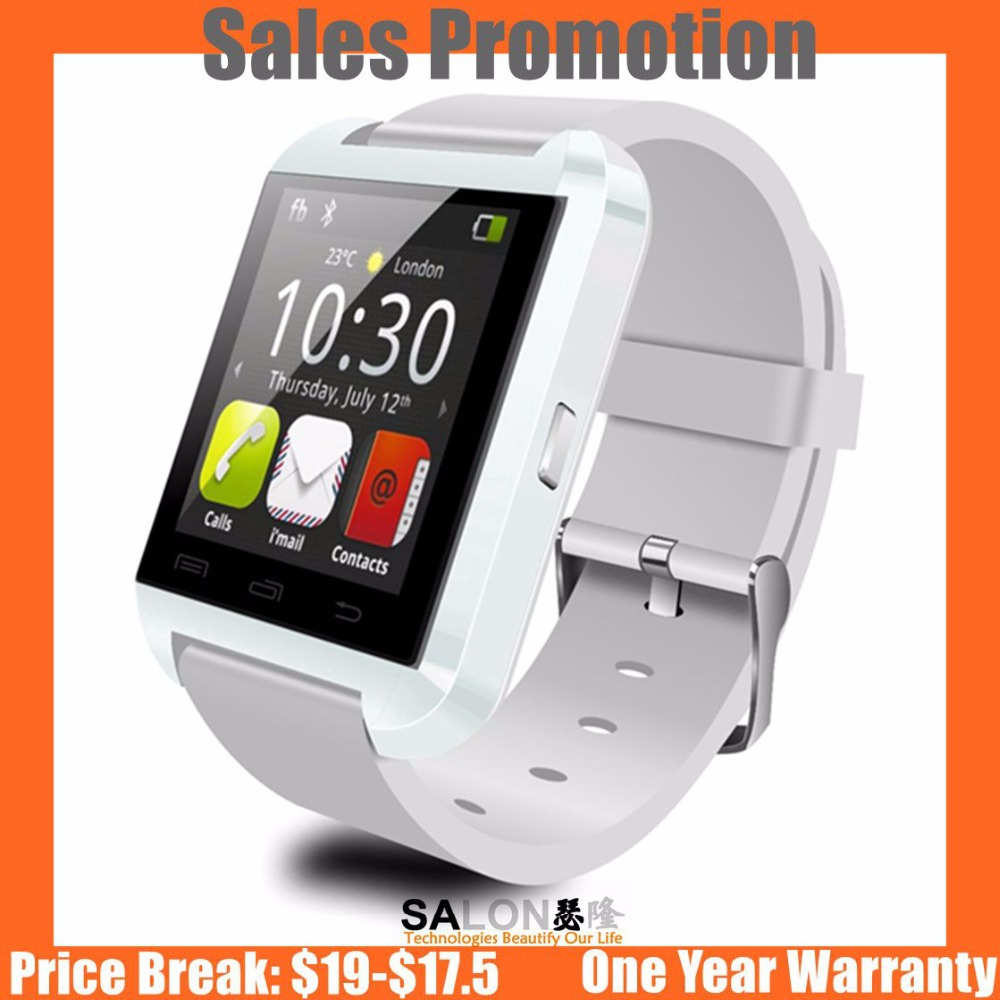 Factroy Direct Marketing Alibaba Best Selling Bluetooth Smartwatch U8 Smart Watch for Samsung S4/Note 3 HTC Android Phone(China (Mainland))