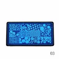 Sara Nail Salon 1 pcs Prego Decalques de Transferência de Água de Marca D' Água Adesivos DIY Alce Boneco de neve de Natal Dos Desenhos Animados Designs Manicure BN229-240