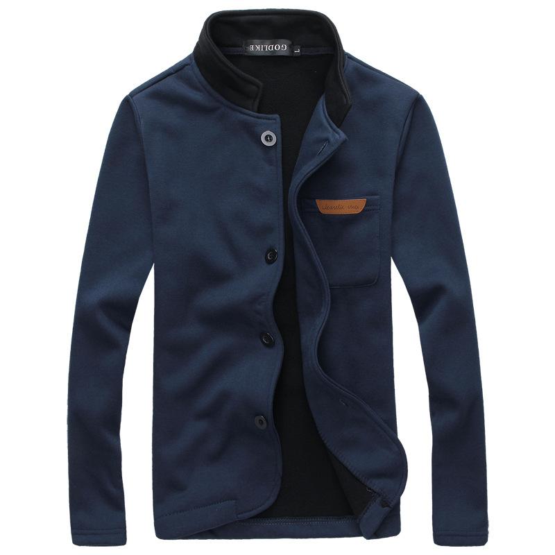 Best selling warm velvet cardigan Sweatshirt Coat Winter fashion good quality man loose-fitting clothes model large size(China (Mainland))