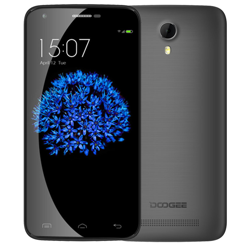 """DOOGEE Y100 X Y100 PRO 5.0"""" MTK6735 Quad Core 1.3GHz ROM 16GB RAM 2GB 2.5D OGS OTG 4G FDD-LTE Android 5.1 Mobile Smart Phone(China (Mainland))"""
