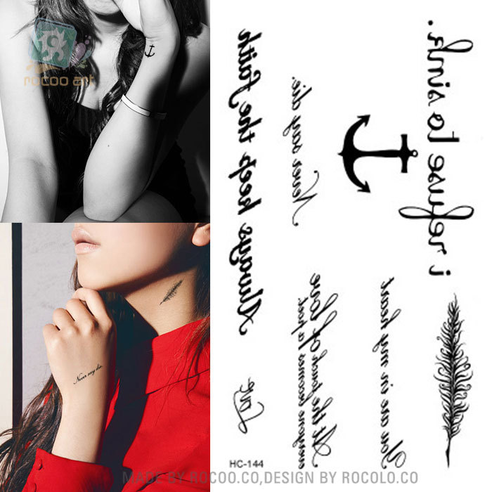 10.5x6cm New sex products Design Fashion Temporary Tattoo Stickers Temporary Body Art Waterproof Tattoo Pattern hc1144