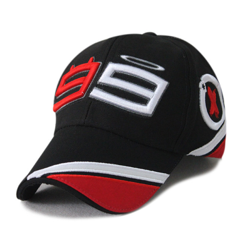 Summer sun shade motorcycle match race team Baseball cap autumn car matching fans hat number 99 team hat male female cotton hat(China (Mainland))