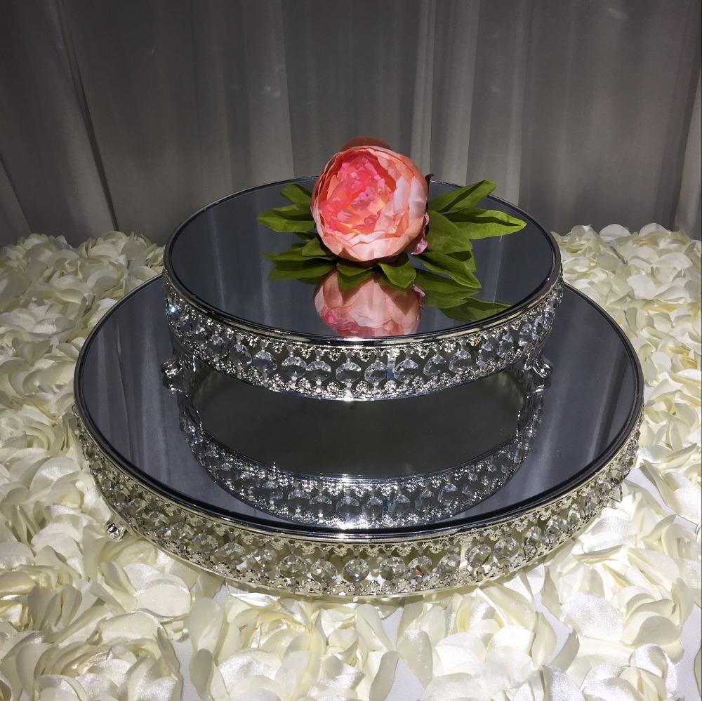 Mirrored Wedding Cake Stand
