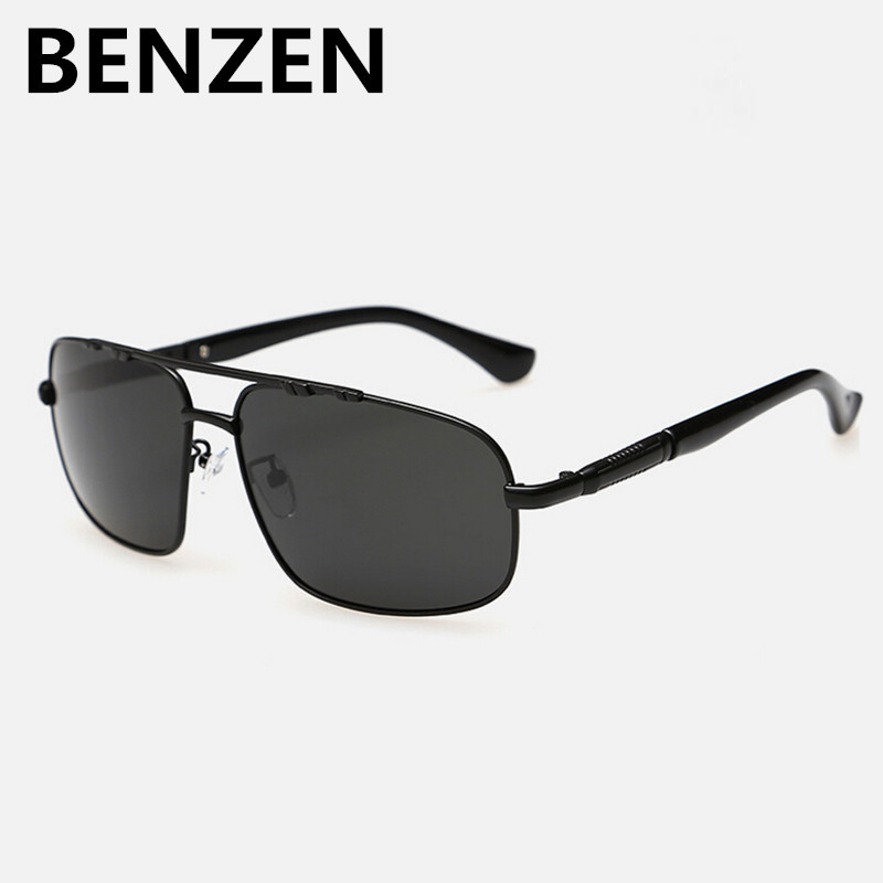 BENZEN Polarized Men Sunglasses UV 400 Sun Glasses For Driving Male Shades Eyewear Oculos De Sol Masculino With Case 9101(China (Mainland))