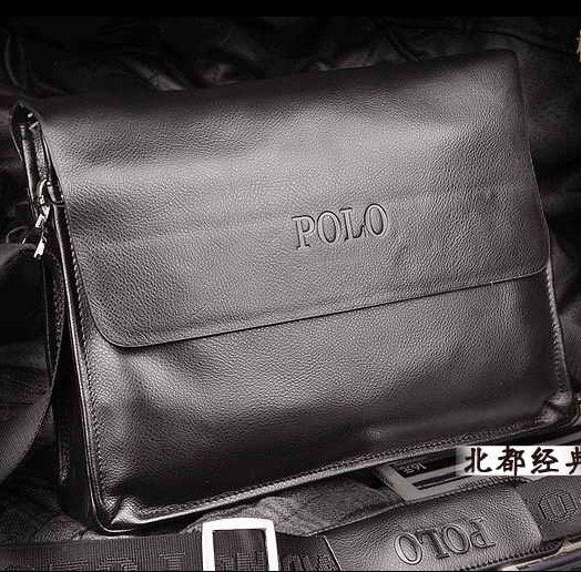 New arrival factory direct offer leather message bags/shoulder bag/cow leather man bag(horizontal style) WLHB360(China (Mainland))