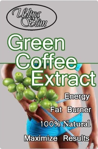 10 Packs 100 Pure Nature Green Coffee Bean Extract 500mg x 1000Caps for weight loss