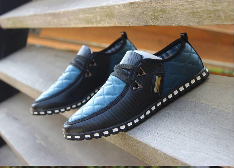 Men's casual shoes, men's shoes, men shoes spring tide male Korean motorists Peas shoes breathable shoes tide shoes