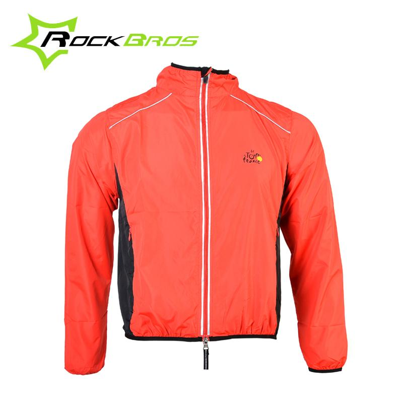 RockBros Bicycle Cycling Outdoor Sports Men Riding Breathable Reflective Jersey Cycle Clothing Long Sleeve Wind Coat Jacket(China (Mainland))
