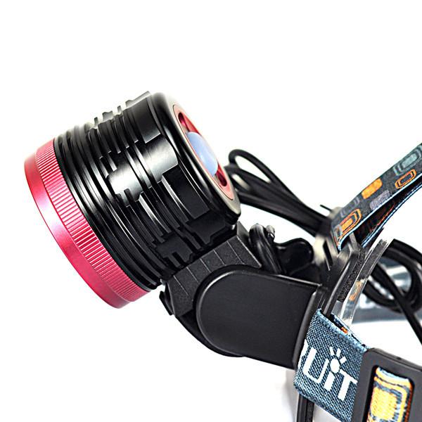 Купить 10000Lm 6x XM-L T6 СВЕТОДИОДОВ Передней Велосипедов свет Велосипеда и Фар 3 Режима Водонепроницаемый Велоспорт Головного Света + 4 х 18650 Аккумулятор/Зарядное Устройство