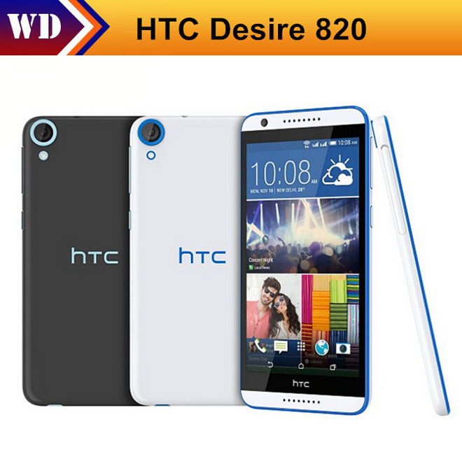 Black Friday Orignal Unlocked HTC Desire 820 Mobile Phone 5.5 Inch Octa Core 2GB RAM 16GB ROM 13.0MP Camera Android 4.4 3G(China (Mainland))
