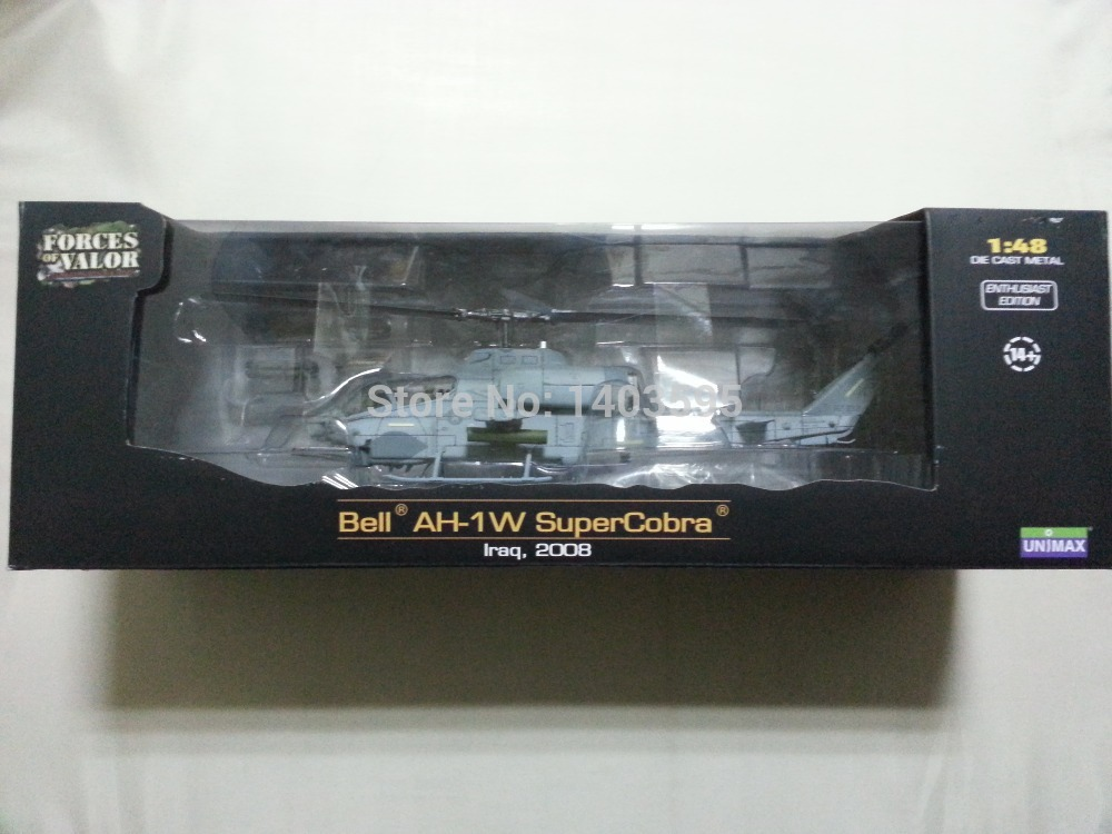 Forces of Valor FOV Diecast Metal #84007 1:48 BELL AH-1W SUPERCOBRA Iraq, 2008 Original Boxed Brand New In Stock &amp; Free Shipping<br><br>Aliexpress