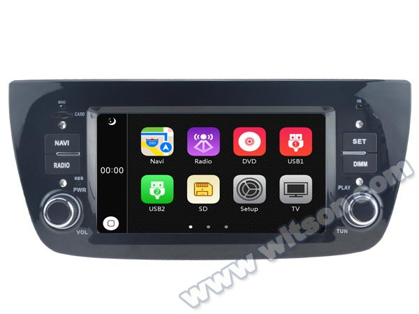 "6.1"" Special Car GPS Navigation for Fiat Doblo I 2000-2009 & Fiat Doblo II 2009-2016 with Built-in Analog TV Function(China (Mainland))"
