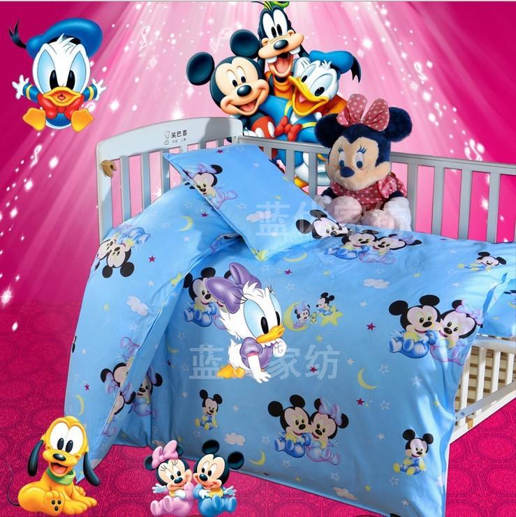 Promotion! 3PCS Duvet Cover/Sheet/Pillow Cover, baby crib bed linen100% cotton baby bedding set baby cot jogo de cama<br><br>Aliexpress