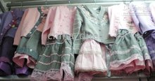 suits with sweater cardigans dresses skirts jumper sweaters 10sets/lot sets girl dress(China (Mainland))