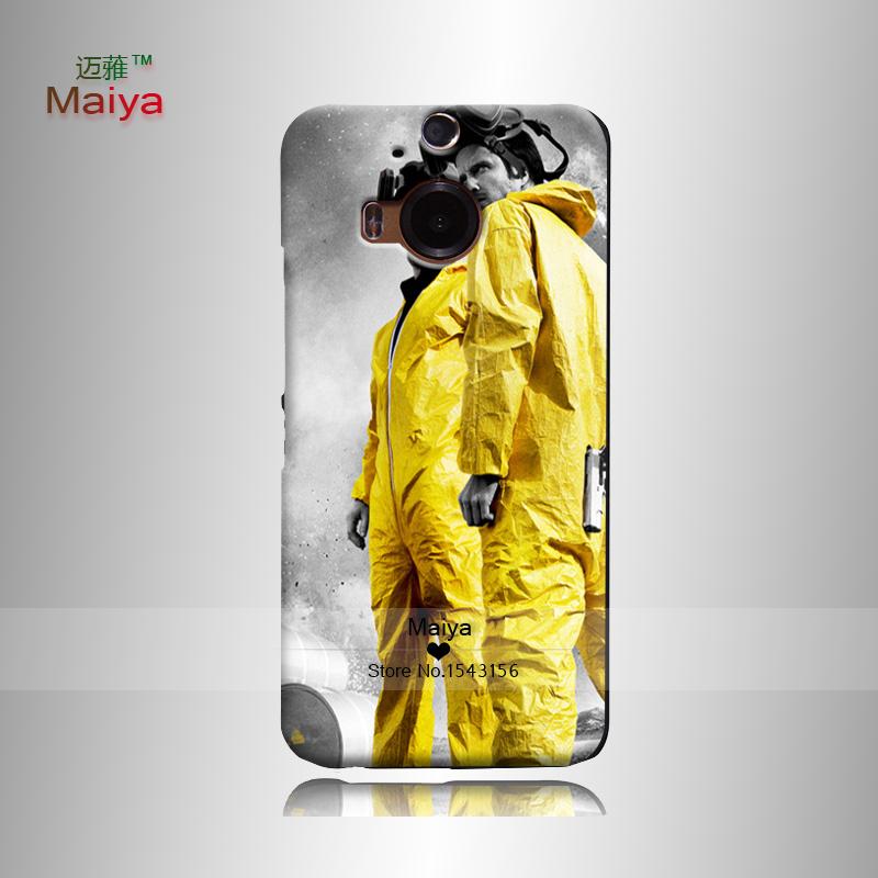 Plástico de la cubierta del caso Breaking Bad Print Hard Back Shell Skin OEM For Htc One M7 OneM8 OneM9 OneM9+ OneX9(China (Mainland))