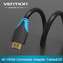 Vention HDMI Cable 0.75m/1m/1.5m/2m/3m/5m/8m/10m  Male to Male Connector Adapter Cable 1.4V 1080p 3D For PC,HDTV,PS3,Projector(China (Mainland))