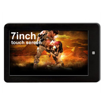 7 inch touch sereen MP4 player with 8GB capacity MP3 MP5 Player E-Book Reading(China (Mainland))