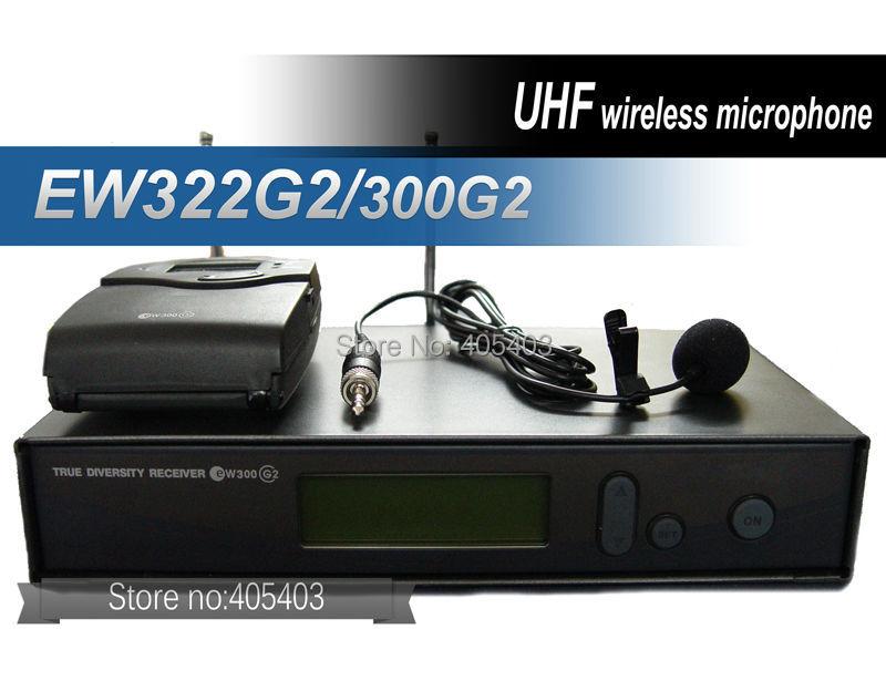 Free shipping EW322G2 EW322 G2 Collar clip / EW300G2 EW300 G2 lapel set  wireless microphones Systems<br><br>Aliexpress