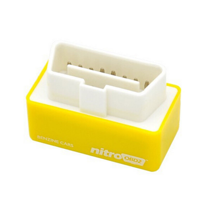 Newest Plug and Drive NitroOBD2 Performance Chip Tuning Box for Benzine Cars More Power & Torque Nitro OBD2 Freeshipping(China (Mainland))