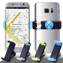 Universal Mobile Car Phone Holder For iPhone SE 5S 6S Car Accessories Bracket Holder Stand For Samsung S7 S6 J510 Huawei P8 lite