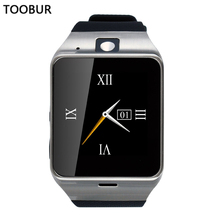 Toobur Aplus GV18 Smart Watch Support SIM Card NFC Bluetooth For Apple iphone Android Watch Phone PK GT08 DZ09 F69 U8
