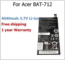 Buy 4040mah 3..7V BAT-712 laptop battery Acer BAT-712, 1S1P, 1ICP4/66/125,3.7 V 4040 mAh 15Wh for $35.04 in AliExpress store