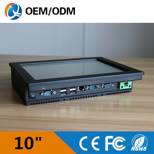 Black 10 inch industrial pc 10 inch embedded mini pc touch screen industry computer 800x600(China (Mainland))