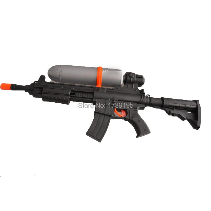 Cool Toy Guns : Super cool outdoor black air water gun summer pressure