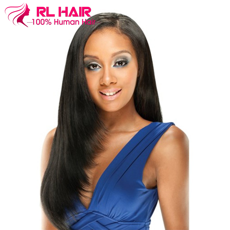 7A Brazilian Virgin Hair Straight Lace Front Human Hair Wigs Full Lace Human Hair Wigs for Black Women Glueless Full Lace Wigs<br><br>Aliexpress