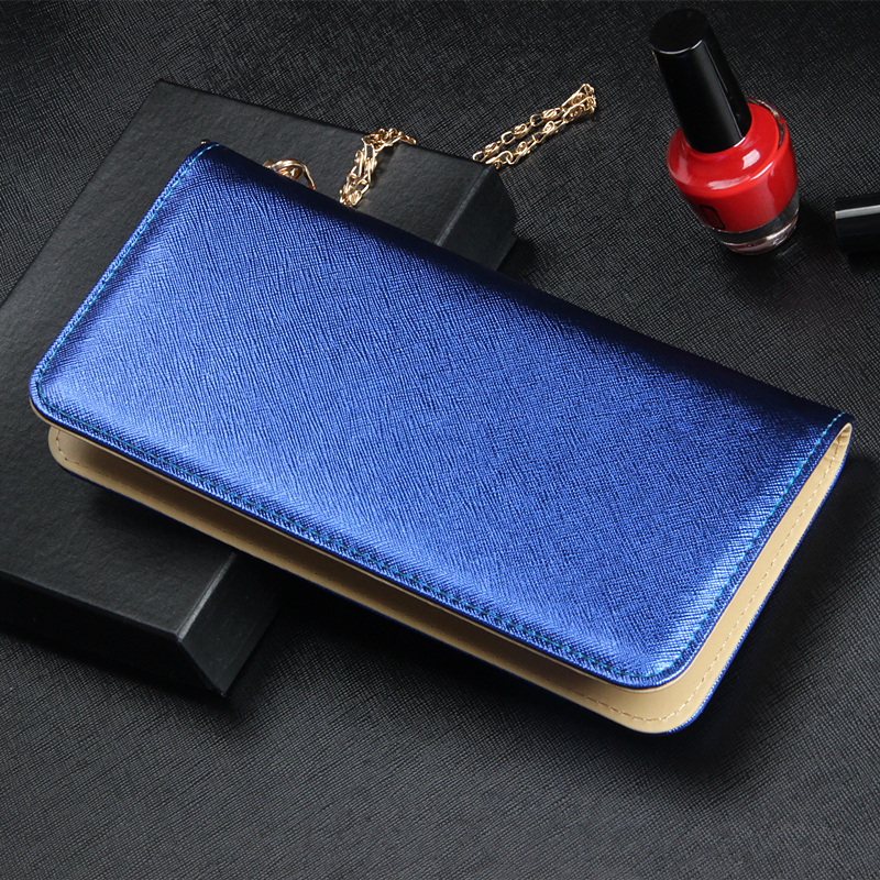 2016 new lady Long Wallet women's fashion couture color high-grade hand bag female wrapping bag clip trend money clips free ship(China (Mainland))