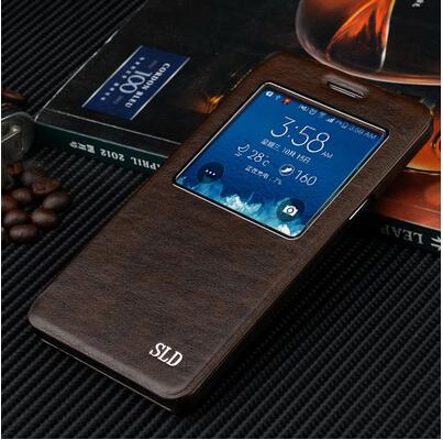 Гаджет  Original Thin sheepskin Flip Leather Case For Samsung Galaxy A5 A500 A5000 Protective Case Cover  None Телефоны и Телекоммуникации