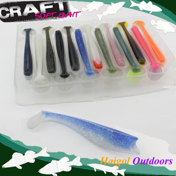 Boat fishing lure with 13 kinds color set package--14 cm shad lure cod soft bait<br><br>Aliexpress