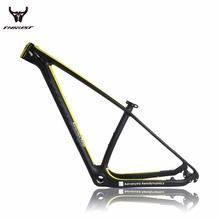 Carbon MTB Bike DESIGN YELLOW Carbon Mountain Bike Frame 27.5er/29er UD BSA/BB30 Bicicleta Mountain Bike MTB Carbon Frame 29er(China (Mainland))