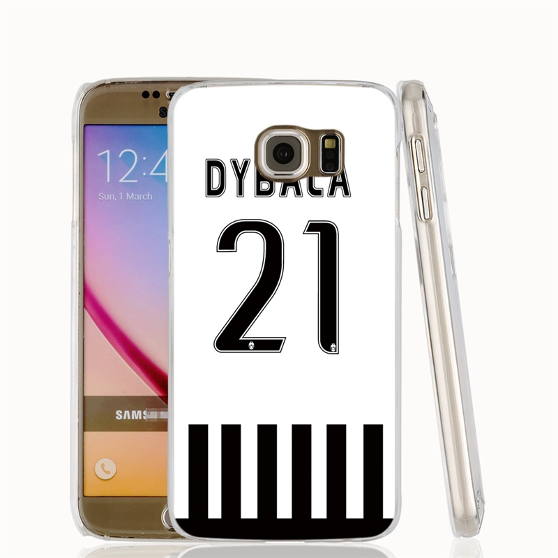 23204 jersey dybala 21 number cell phone case cover for Samsung Galaxy A3 A5 A7 A8 A9 2016 2015 BQ M5.O(China (Mainland))