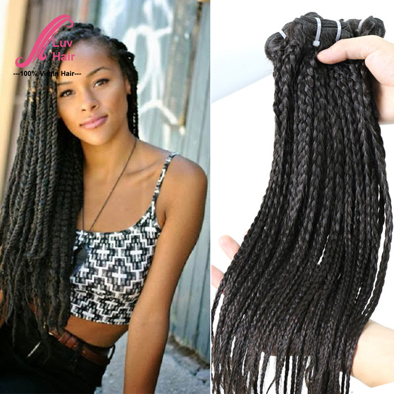 virgin brazilian braided human hair straight bundles