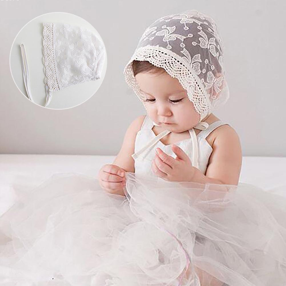 Baby Girl Summer Hat Newborn Lace Hats Newborn Photography Props Baby Photo Props Gorro Infantil Gorro Fotografia White D5(China (Mainland))