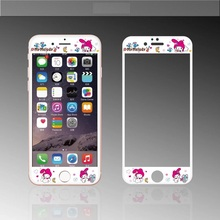 Hot Sale Rushed Fashion Nanometer Film Anti-knock Cute Cartoon Girl Pink Melody Screen Protector For Iphones 6 6s 6plus