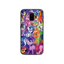 Мягкий чехол для телефона My Little Pony для Samsung Galaxy S6 S7 S8 S9 S10e Plus Note 8 9(China)