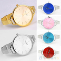 WoMaGe brand 2017 New Fashion Clock Women s party dress Watch gold Stainless Steel Strap WristWatch
