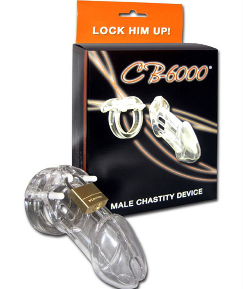 Гаджет  Hot sell !!! Cock Cage ,Chastity Penis Lock Transparent Health Materials , Male  Chastity Device Cage ,Sex Products, cock ring None Красота и здоровье