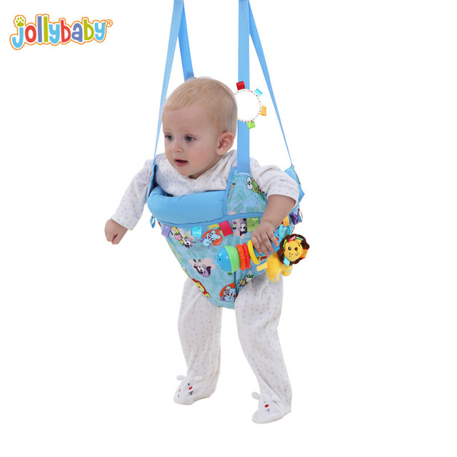 Jollybaby малыш фитнес качели прыжки двойного назначения парк Bebek стулья колыбелью перемычки и вышибалы YYT501