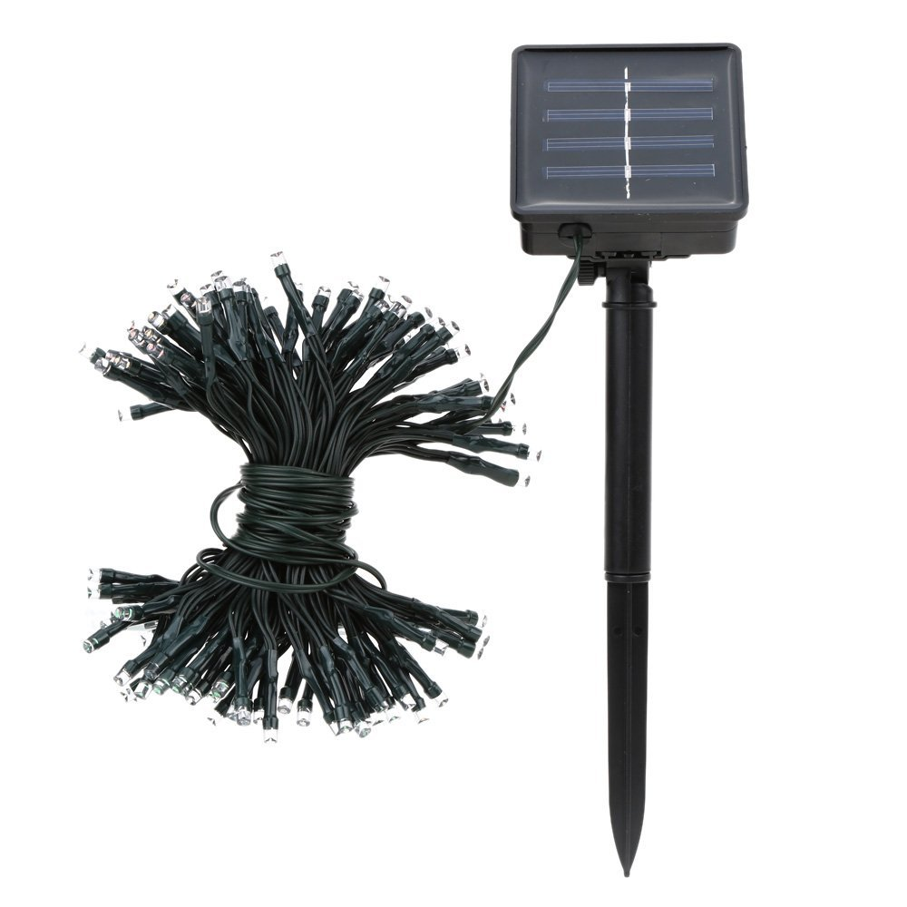 LNHF Wholesale 17m 100 LED Colorful Waterproof Outdoor Solar LED Light Fairy String Garden Christmas Party<br><br>Aliexpress